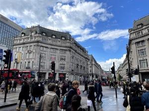 ロンドン中心部の様子
